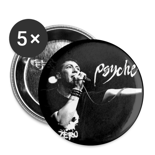 Psyche - Fan Button - Buttons small 1''/25 mm (5-pack)