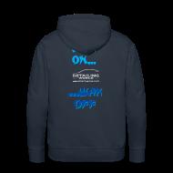 Hoodies & Sweatshirts ~ Men's Premium Hoodie ~ Detailing World 'Wax On...Wax Off' Hooded Fleece Top