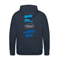 Hoodies & Sweatshirts ~ Men's Premium Hoodie ~ Detailing World 'Wax On...Wax Off' Hooded Fleece Top
