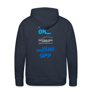 Detailing World 'Wax On...Wax Off' Hooded Fleece Top - Men's Premium Hoodie