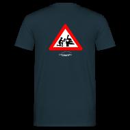 T-Shirts ~ Men's T-Shirt ~ Detailing World 'Warning - Man Detailing' T-Shirt (BACK PRINT)