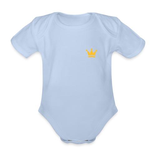 Baby Body Little Prince - Baby Bio-Kurzarm-Body