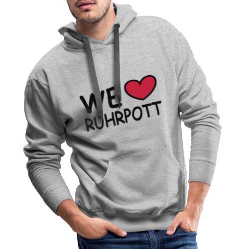WE ♥ Ruhrpott - Kapuzenpulli - Männer Premium Hoodie