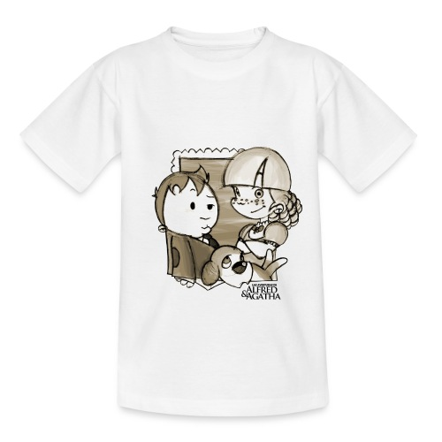 Foto Alfred & Agatha 1 - Camiseta adolescente