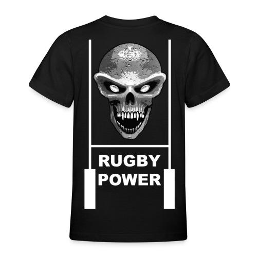 skull rugby t-shirt - T-shirt Ado