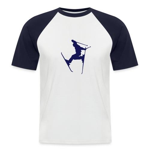 T-Shirt Freestyle - Männer Baseball-T-Shirt