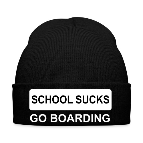 School sucks go boarding (SNOWBOARD)  - Winterhue