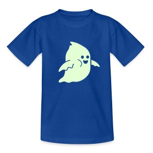 Frosby Ghost Kids Glow T-shirt - Teenage T-shirt