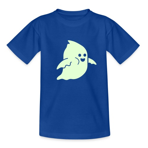 Frosby Ghost Kids Glow T-shirt - Teenage T-shirt
