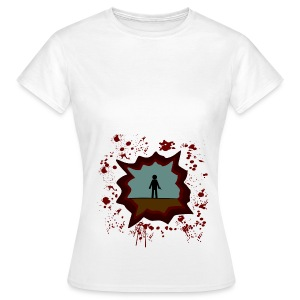 The Walking Dead - shoot - Camiseta mujer