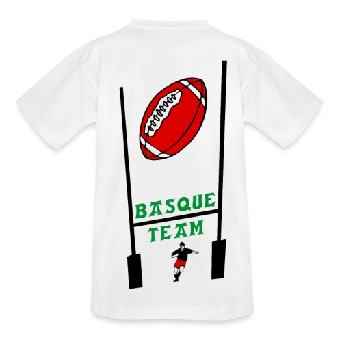 t-shirt enfant sport basque - T-shirt Ado