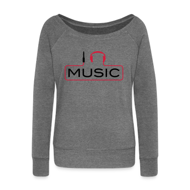 I love music plug headphones sound bass beat catch cable music i love techno minimal house club dance dj discjockey electronic electro Hoodies & Sweatshirts