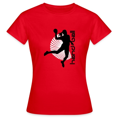 Tshirt Handball - Frauen T-Shirt