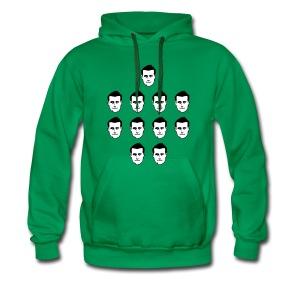 'Team Of Alan Lees' hoodie - Men's Premium Hoodie