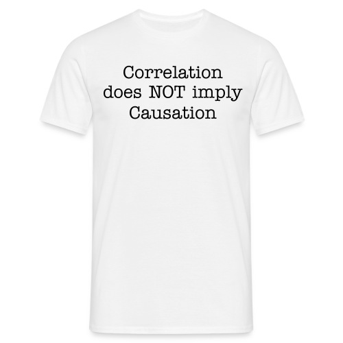 Correlation M - Männer T-Shirt
