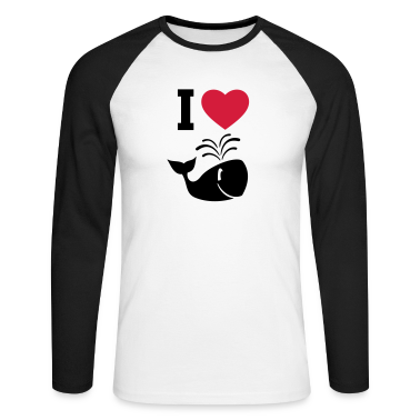 I love whales! Long sleeve shirts