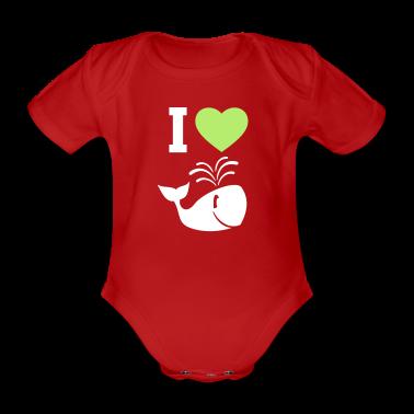 Amo le balene! Body neonato