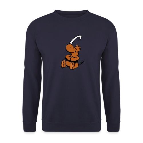 Wolldilldappenpullover - Männer Pullover