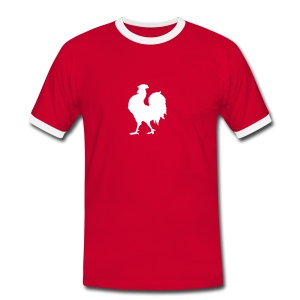 Tee shirt Rugby - Le Coq - T-shirt contraste Homme