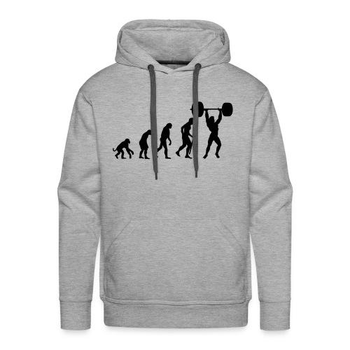 Men's Evolution Hoodie - Men's Premium Hoodie