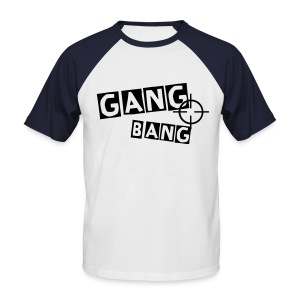 SHOOTGANG #MARINE - T-shirt baseball manches courtes Homme