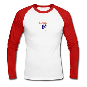 zingCOBOL - Men's Long Sleeve Baseball T-Shirt
