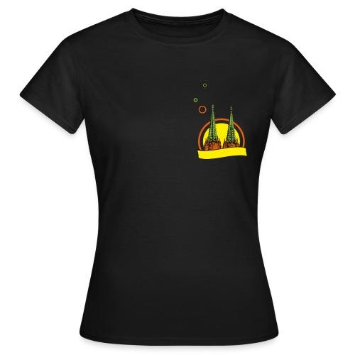 congstar frauen t-shirt kölner dom - Frauen T-Shirt