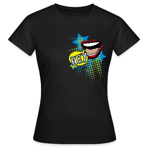 congstar frauen t-shirt klappe - Frauen T-Shirt