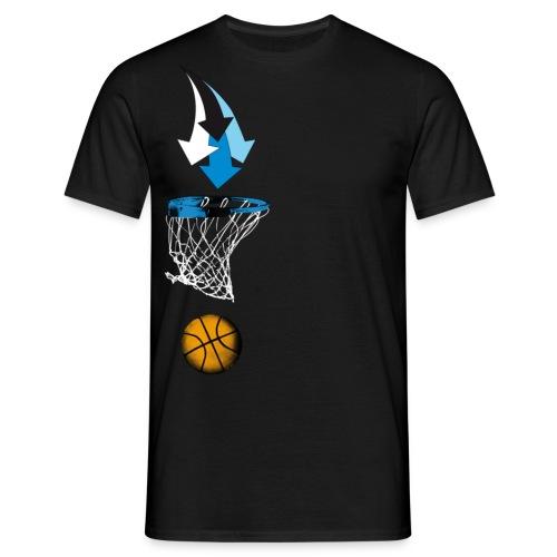 congstar männer t-shirt basketball - Männer T-Shirt