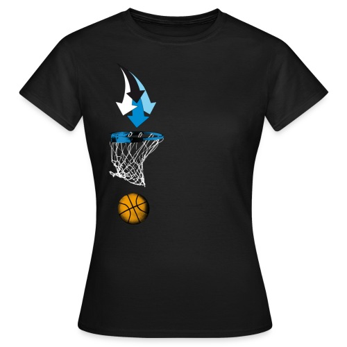 congstar frauen t-shirt basketball - Frauen T-Shirt