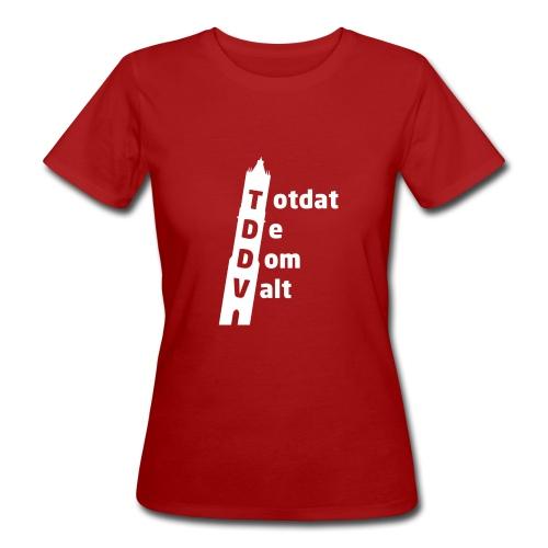 TDDV Women's Slim Fit T-shirt - Vrouwen Bio-T-shirt