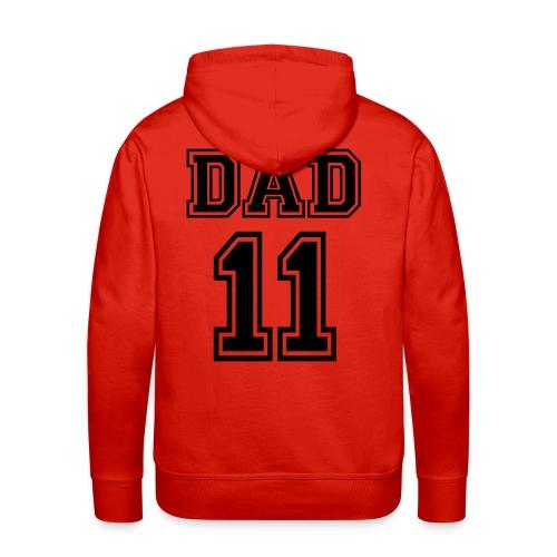 Pappa 2011 - Premium hettegenser for menn