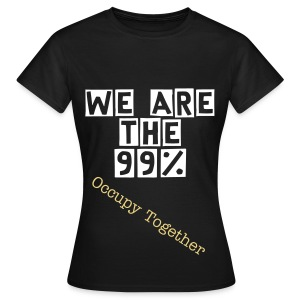 we are  the 99% - Women's T-Shirt