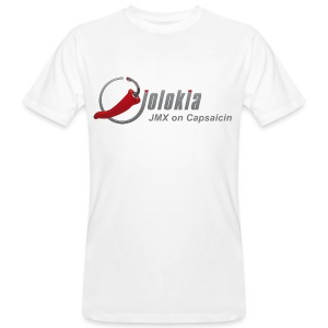 Men's Organic T-shirt - Jolokia JMX Capsaicin Chili T-Shirt