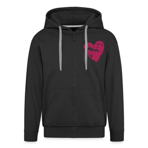 Zipper - Men's Premium Hooded Jacket