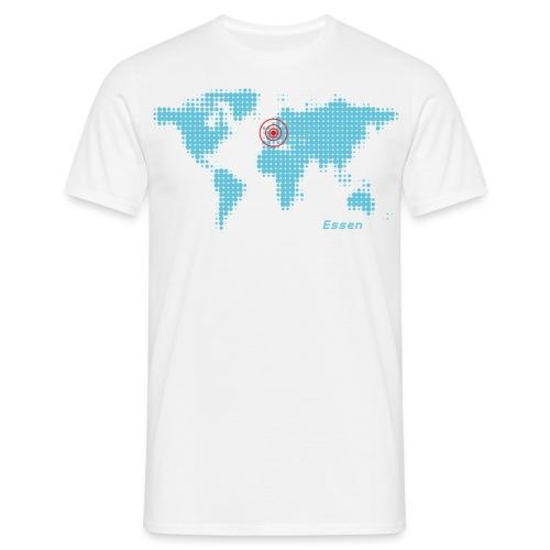 Essen Weltkarte T-Shirt - Männer T-Shirt