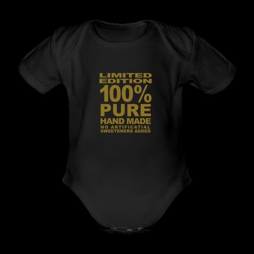 100% pure ( rompertje ) - Baby bio-rompertje met korte mouwen