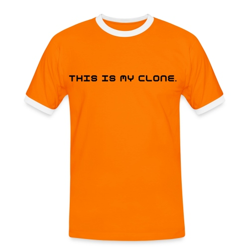 the clone - Männer Kontrast-T-Shirt