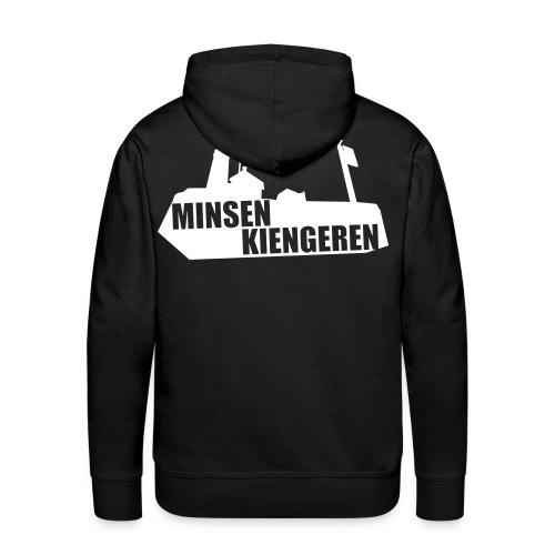 Minsen Kiengeren - Mannen Premium hoodie