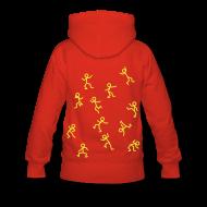 Hoodies & Sweatshirts ~ Women's Premium Hoodie ~ Stickmen Dancing Hoodie!