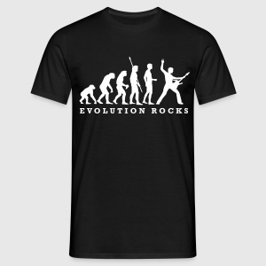 evolution_rocks_a_1c Tee shirts - T-shirt Homme