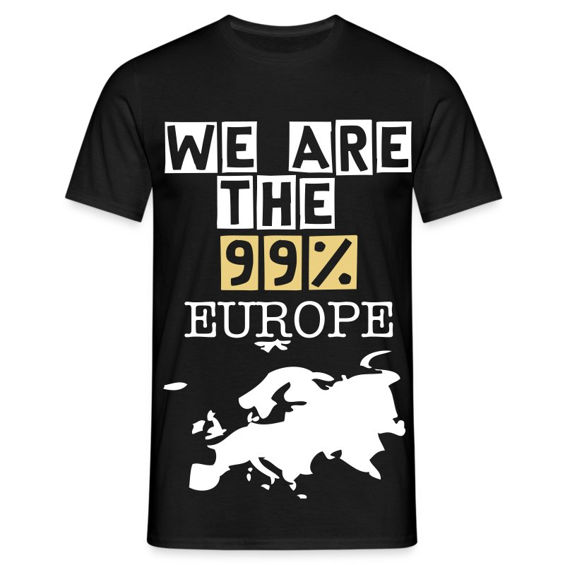 WE ARE THE 99% Europ - Men's T-Shirt