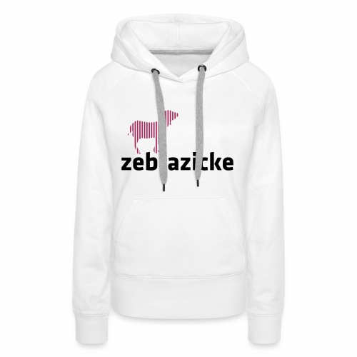 Zebrazicke - Frauen Premium Hoodie