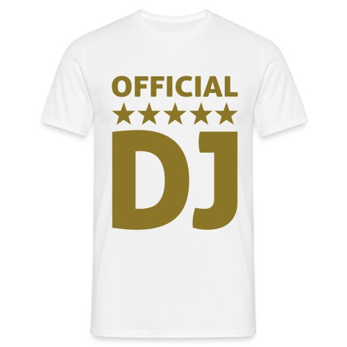 Official DJ Mannen T-shirt - Mannen T-shirt