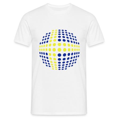 Zweedse vlag heren t-shirt - Mannen T-shirt