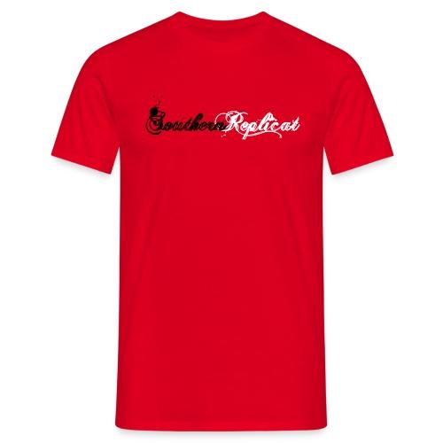 Southern - Herren Shirt, rot - Männer T-Shirt