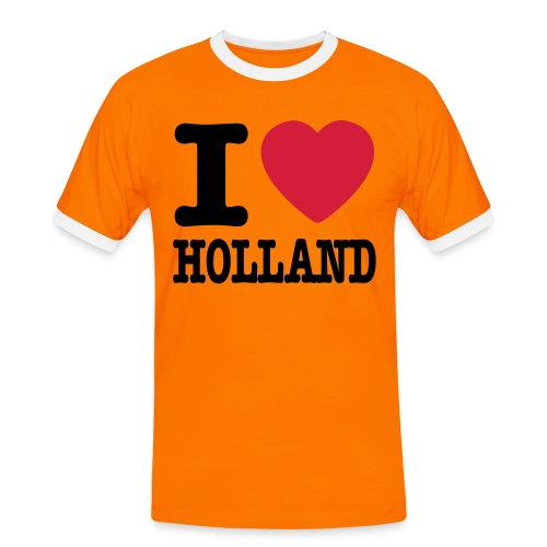 I love Holland !  - T-shirt contrasté Homme