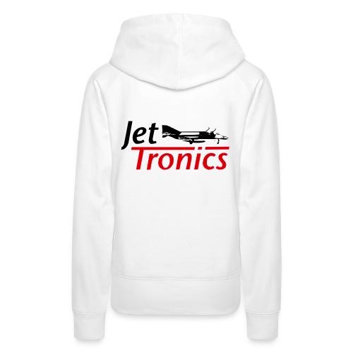 Jet-Tronics Kapuzen-Sweater - Frauen Premium Hoodie
