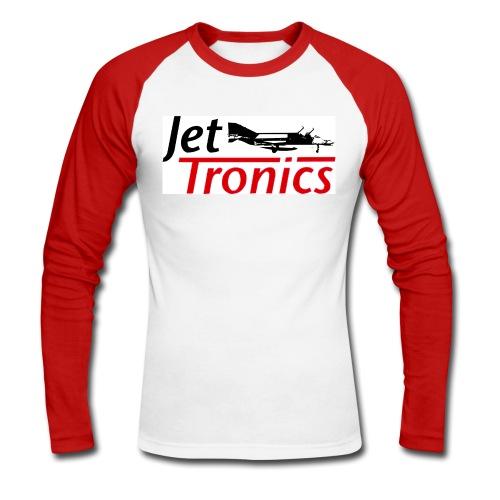 Jet-Tronics Longsleeve mit Frontlogo - Männer Baseballshirt langarm