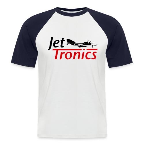 Jet-Tronics T-Shirt mit Frontlogo - Männer Baseball-T-Shirt